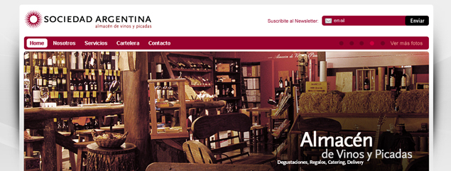 New website for Sociedad Argentina