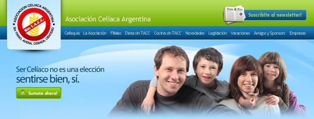 New Site for the Celiac Association Argentina
