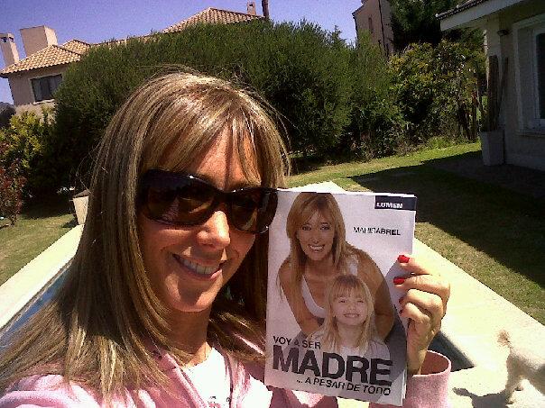 Marisa Brel, con su libro Voy a ser madre... a pesar de todo