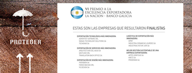 QKStudio nominated in the Export Excellence Award La Nación-Banco Galicia