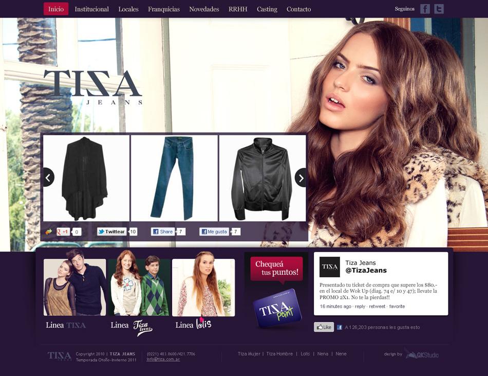 Tiza Web 2012 (mujer) QKStudio