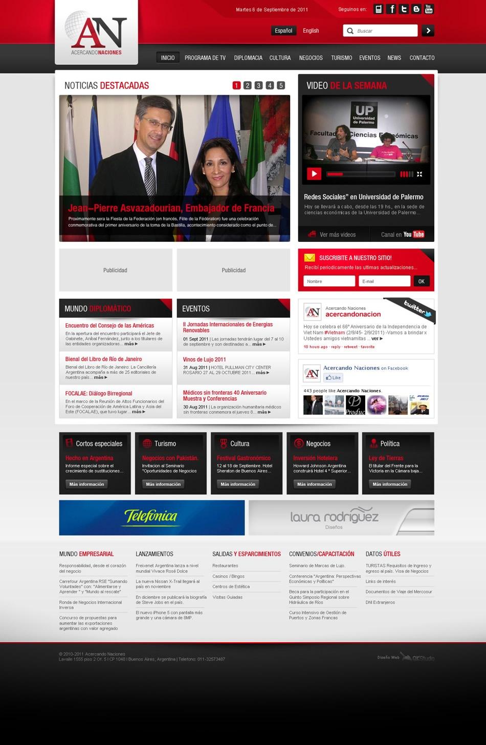 Acercando Naciones WebSite