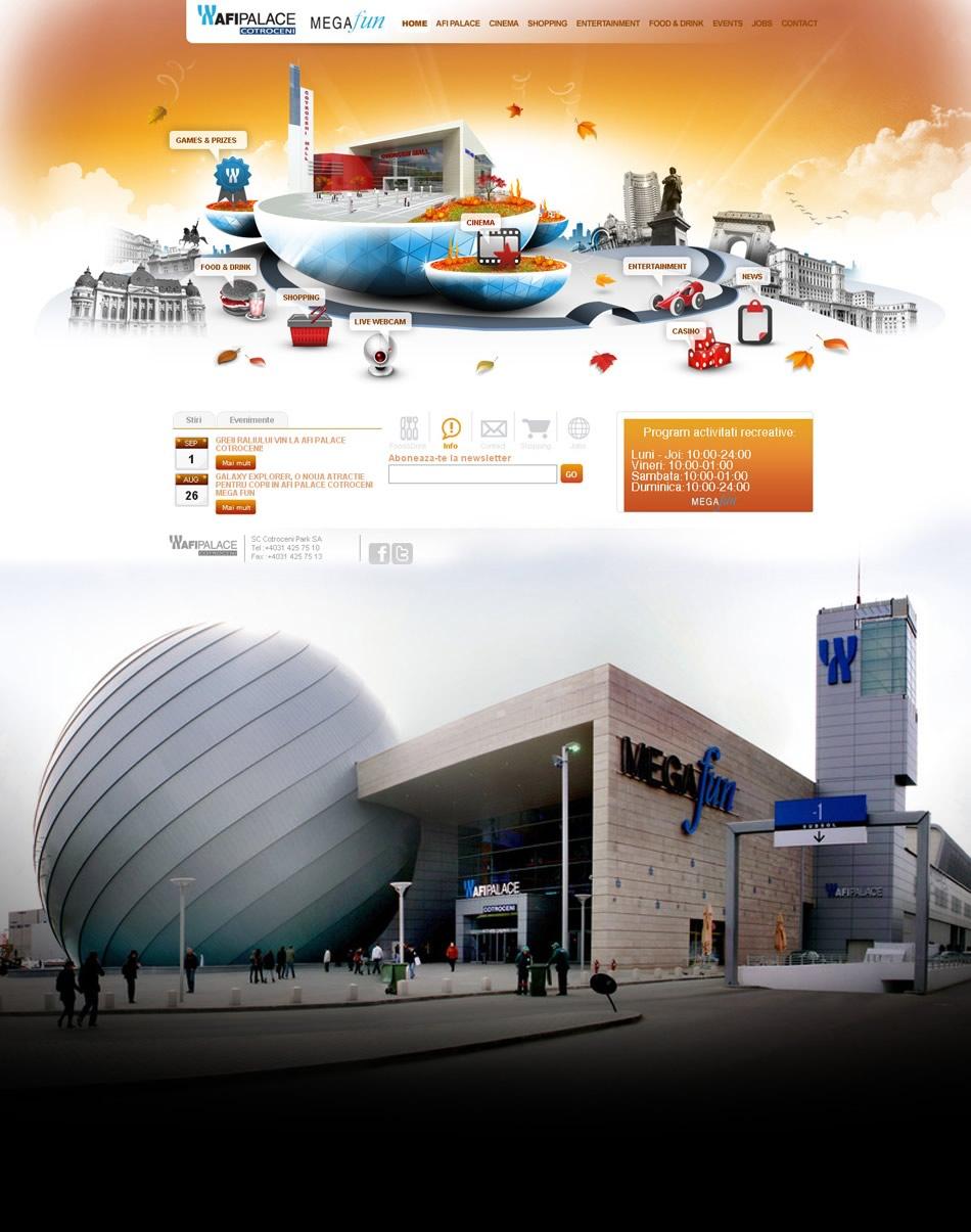 Afi Palace Cotroceni WebSite (Temporada Otoño)