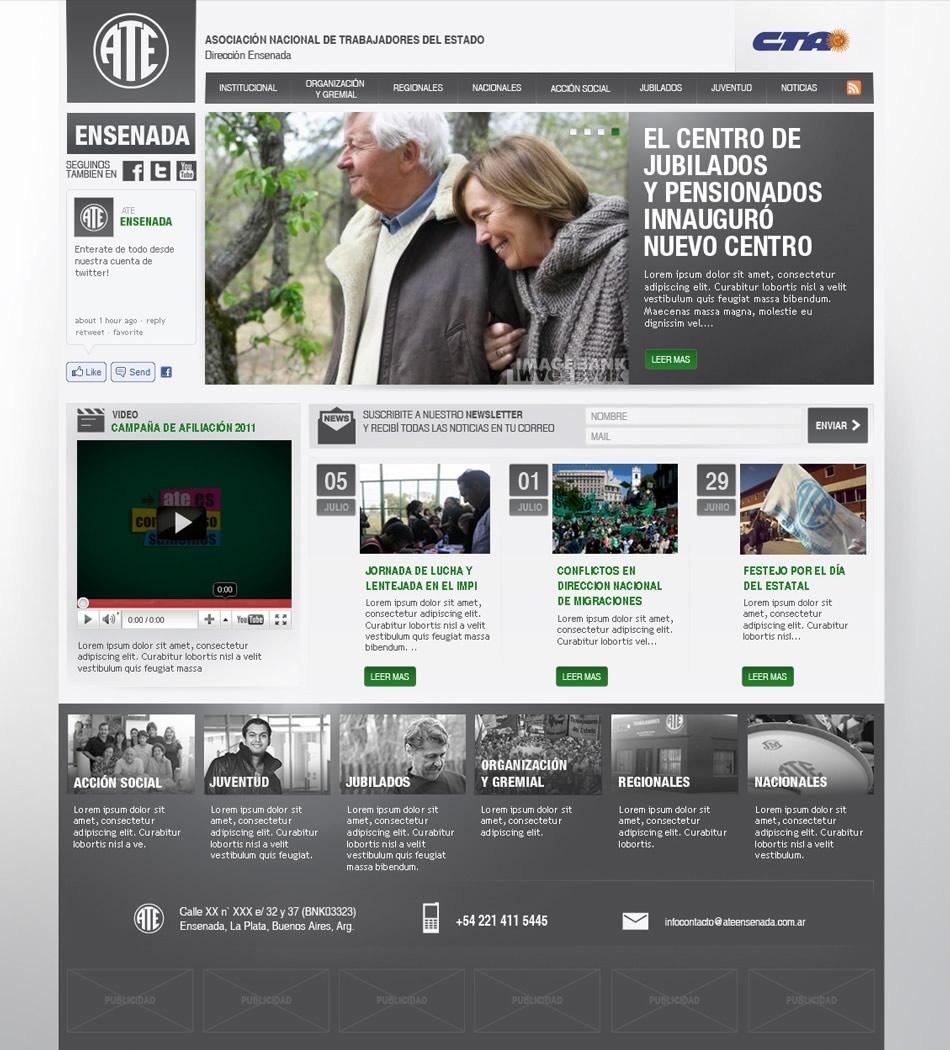 ATE Ensenada WebSite