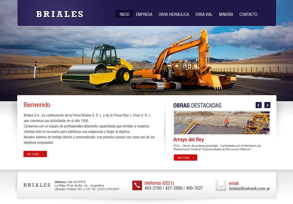 Briales Diseño Web