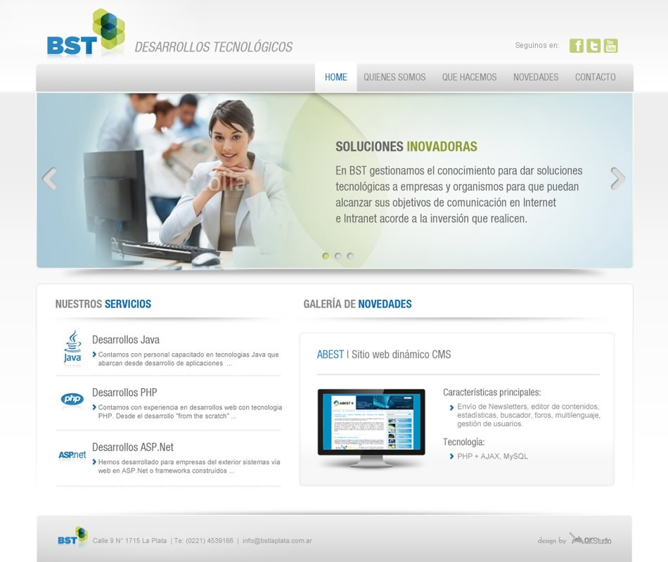 BST La Plata WebSite