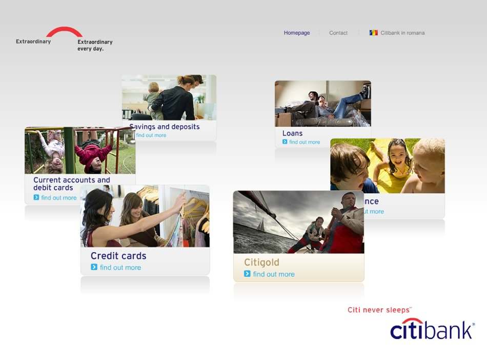 Citibank App Touchscreen Qkstudio