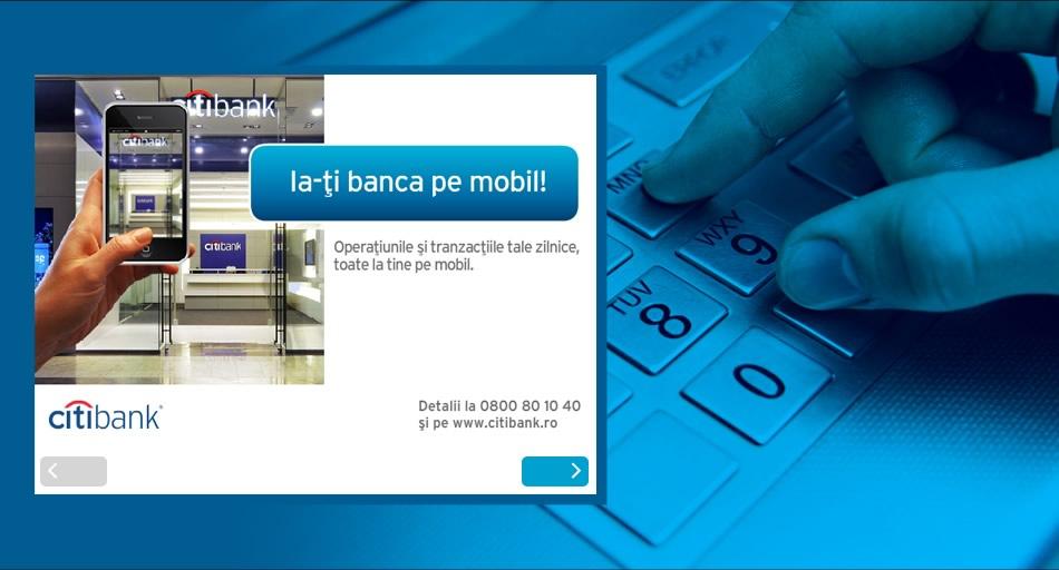 Citibank ATM Animación QKStudio