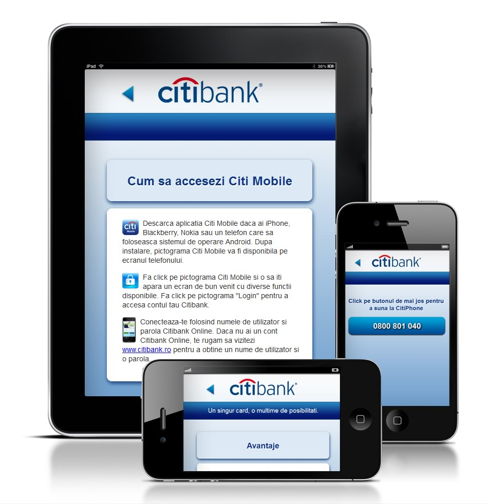 Citibank Mobile (iPhone/iPad) QKStudio