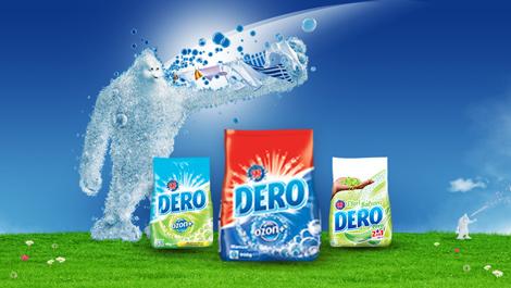 Diseño web, juegos interactivos, y campañas de banners para Dero Ozon+