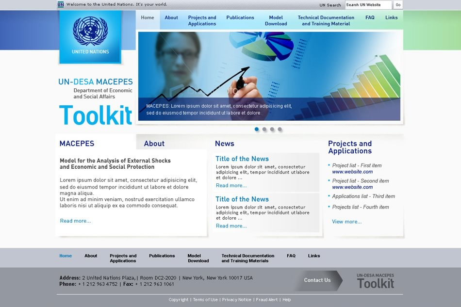Naciones Unidas Toolkit Portal
