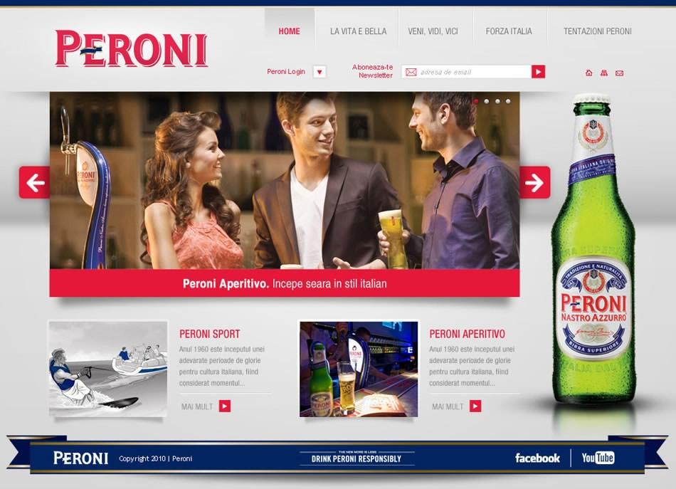 Peroni Web Institucional QKStudio