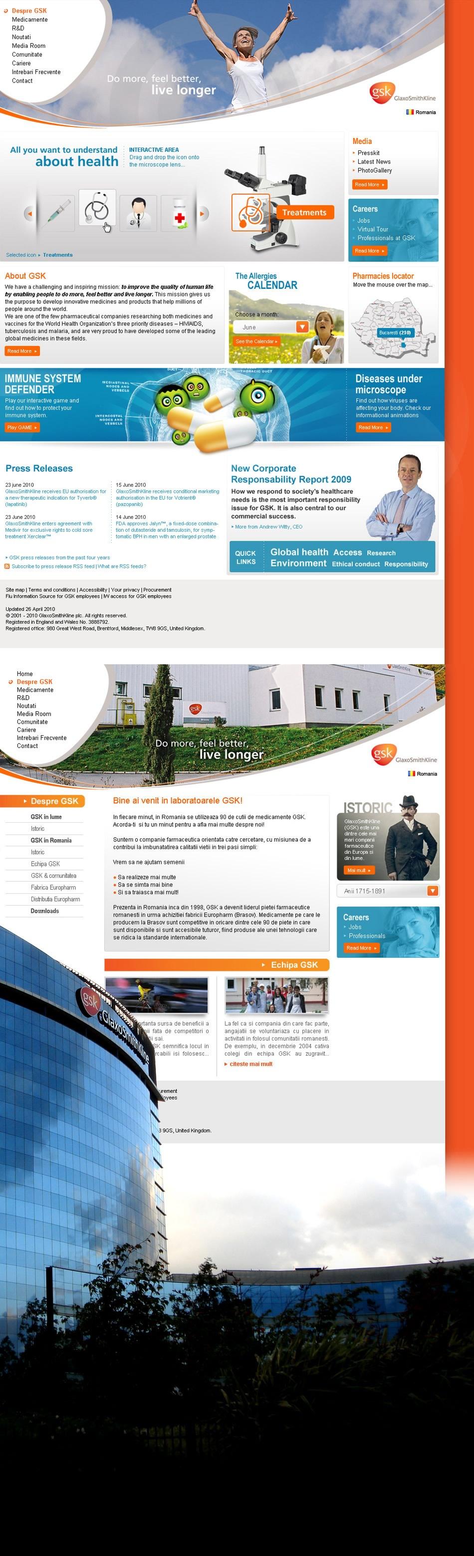 GSK portal institucional