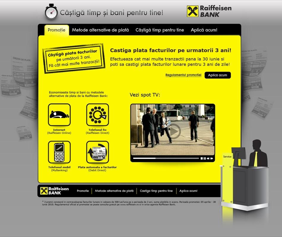 Raiffeisen MicroSite Web