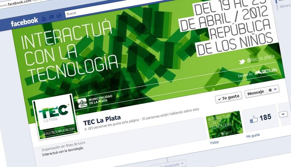 TEC La Plata Facebook Bio y Community Manager QKStudio