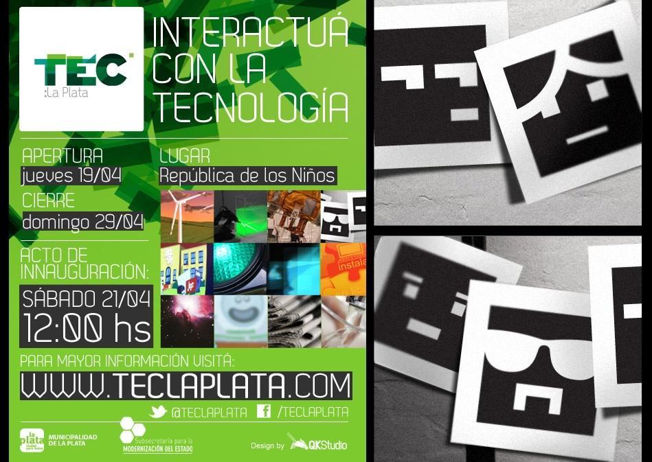 TEC La Plata Flyer institucional QKStudio