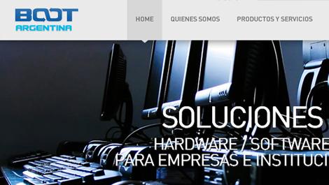 Boot Argentina | Diseño y desarrollo del website con tecnología HTML5/CSS3 para Boot Argentina.