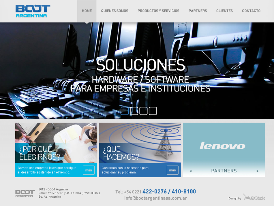 Boot Argentina Website