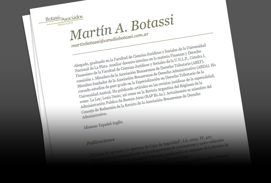 Botassi & Asociados Presentation QKStudio
