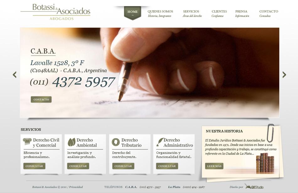 Botassi & Asociados Web QKStudio