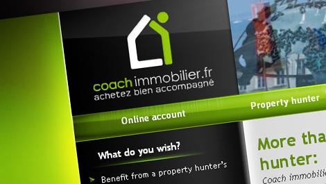 Coach Immobilier | Diseño y desarrollo web