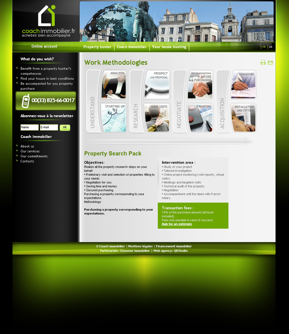 Coach Immobilier Web QKSstudio
