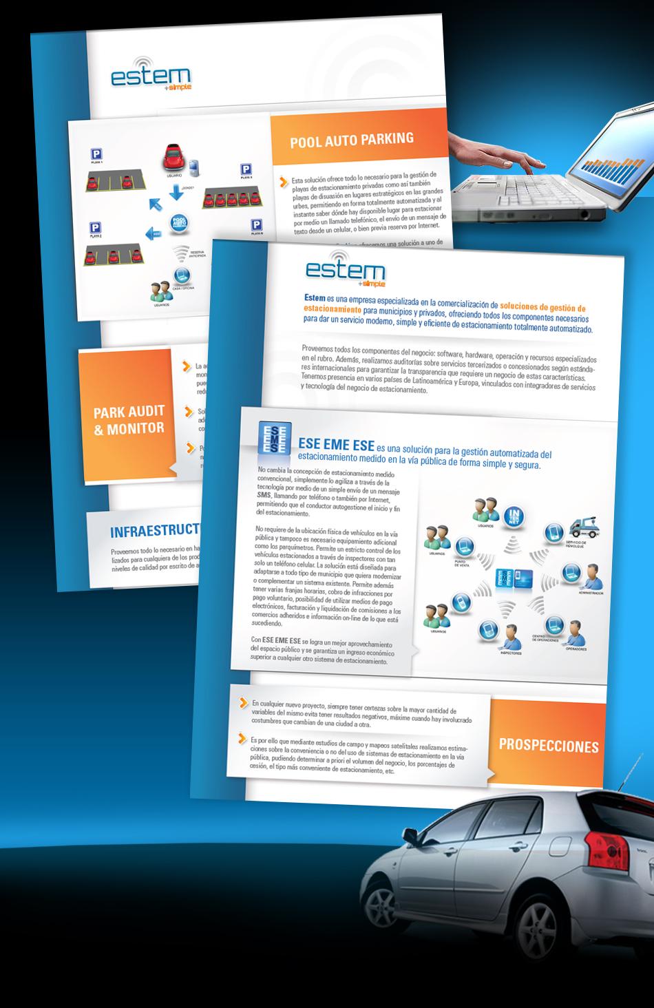 Estem + simple Brochure QKStudio