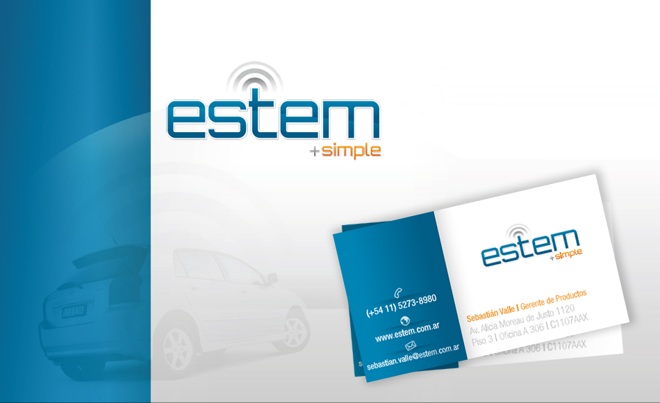 Estem + simple Logo QKStudio