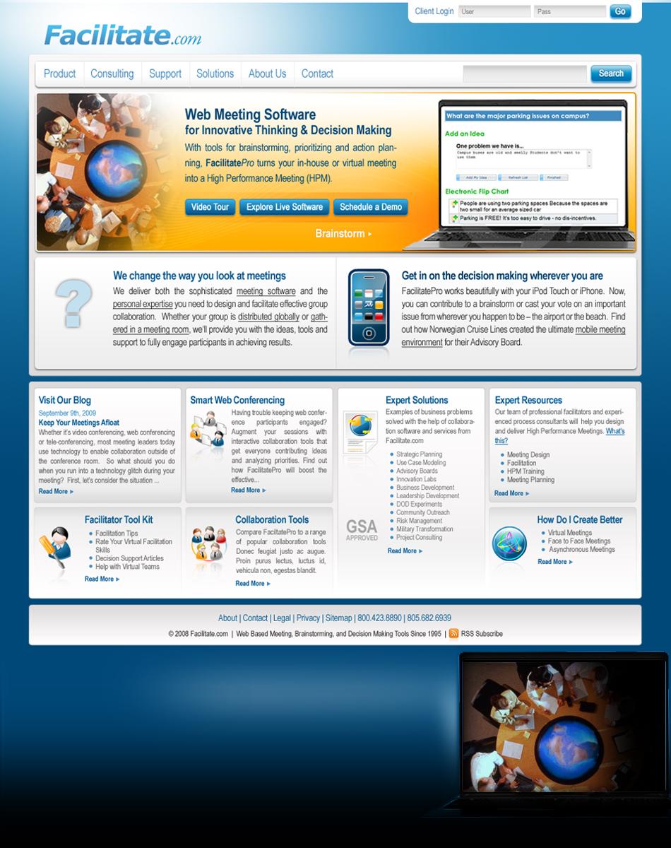Facilitate Web QKStudio