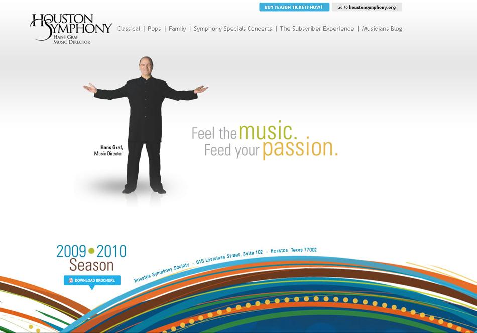 Houston Symphony Web QKStudio