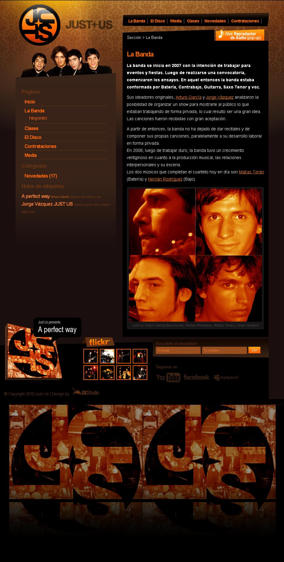 JUSTUS Web Interior QKStudio