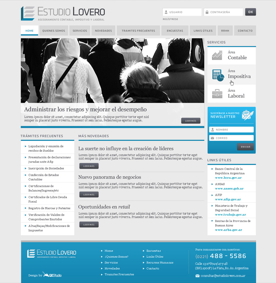 Estudio Lovero Web QKStudio