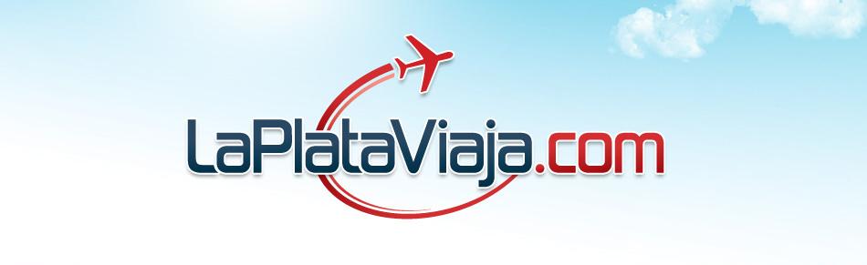 La Plata Viaja Logo QKStudio