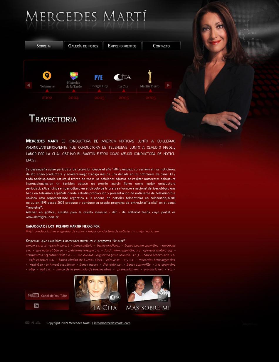 Mercedes Martí Web Interior QKSstudio