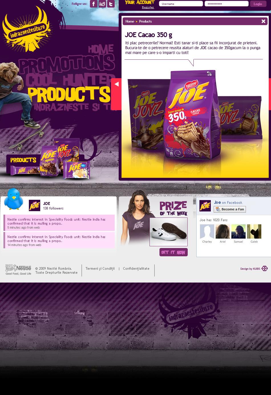 Nestle Web 2 QKStudio