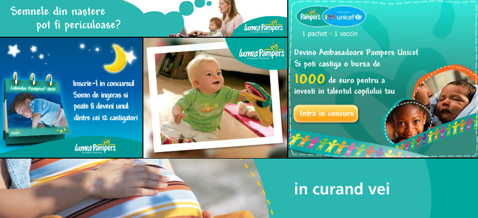 Pampers Village campaña Lumea