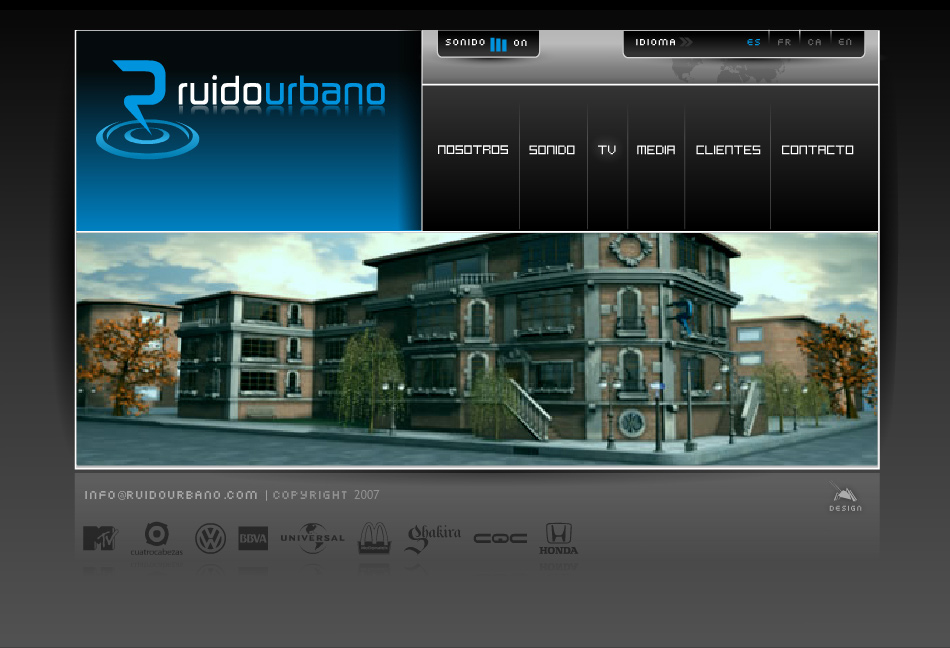 Ruido Urbano Website QKStudio