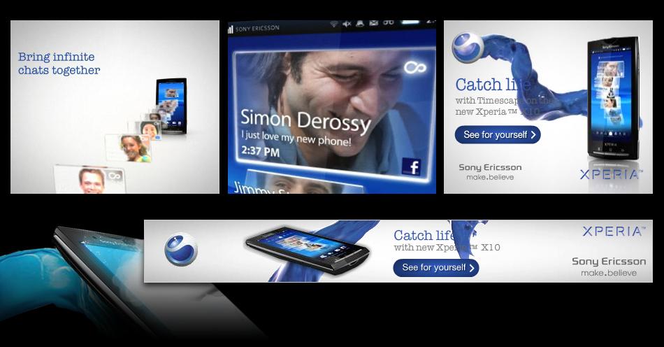 Sony Ericson Banners QKStudio