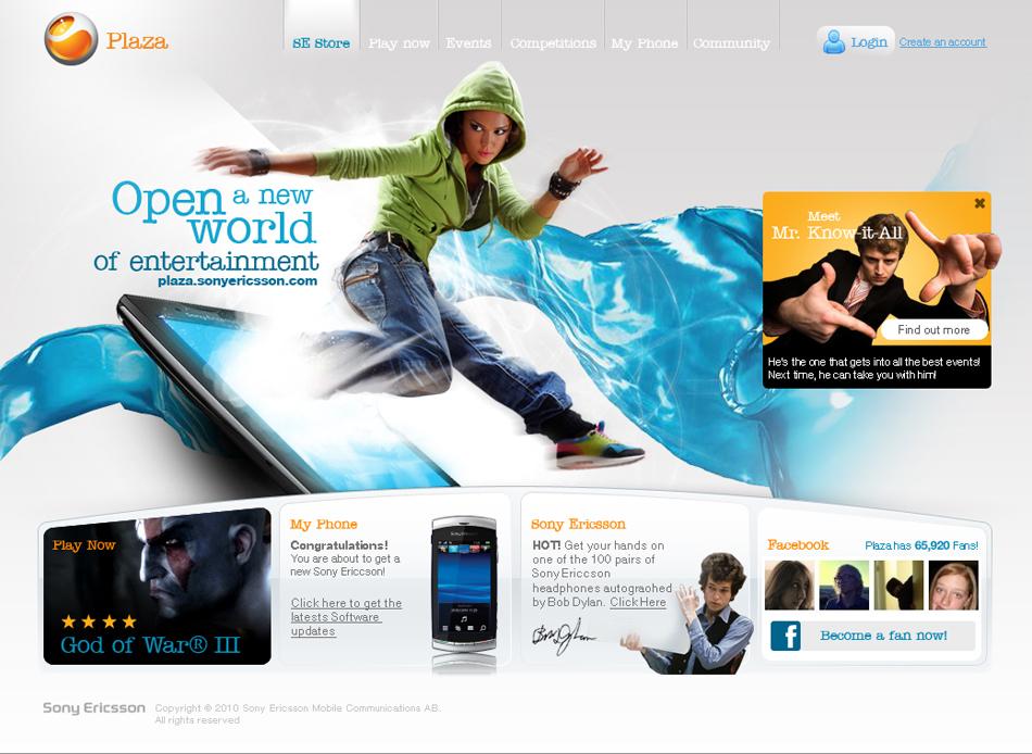Sony  Ericson Web QKStudio
