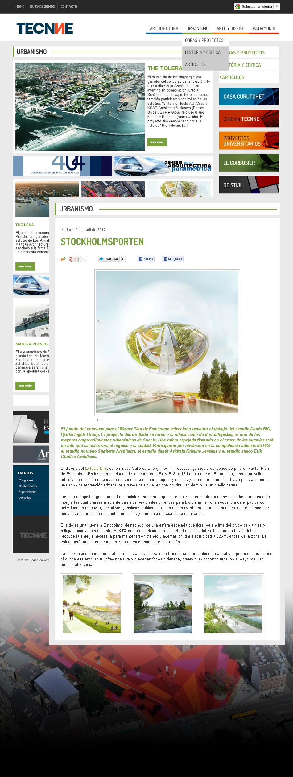Tecnne Web Interior  QKStudio