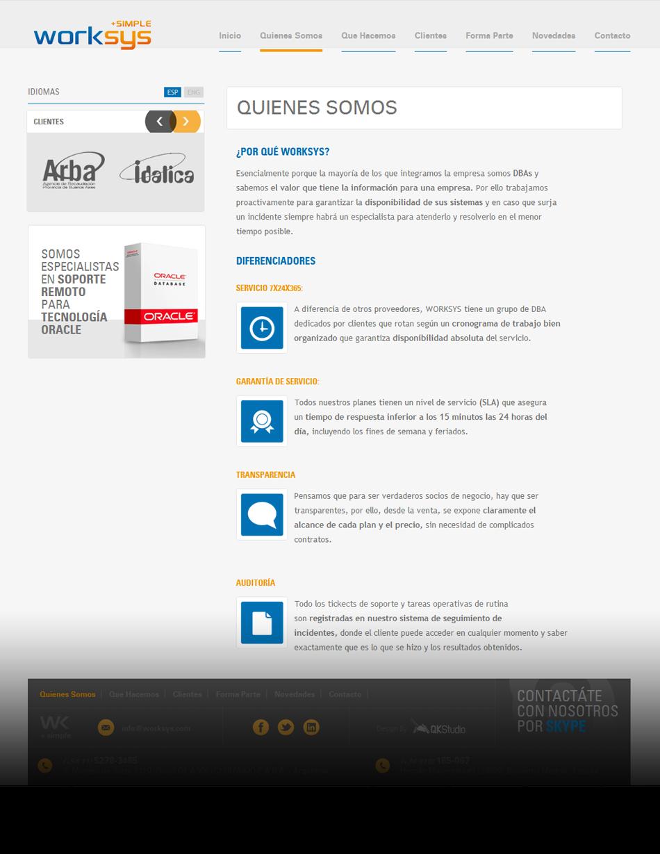 Work-sys Web Interior QKStudio