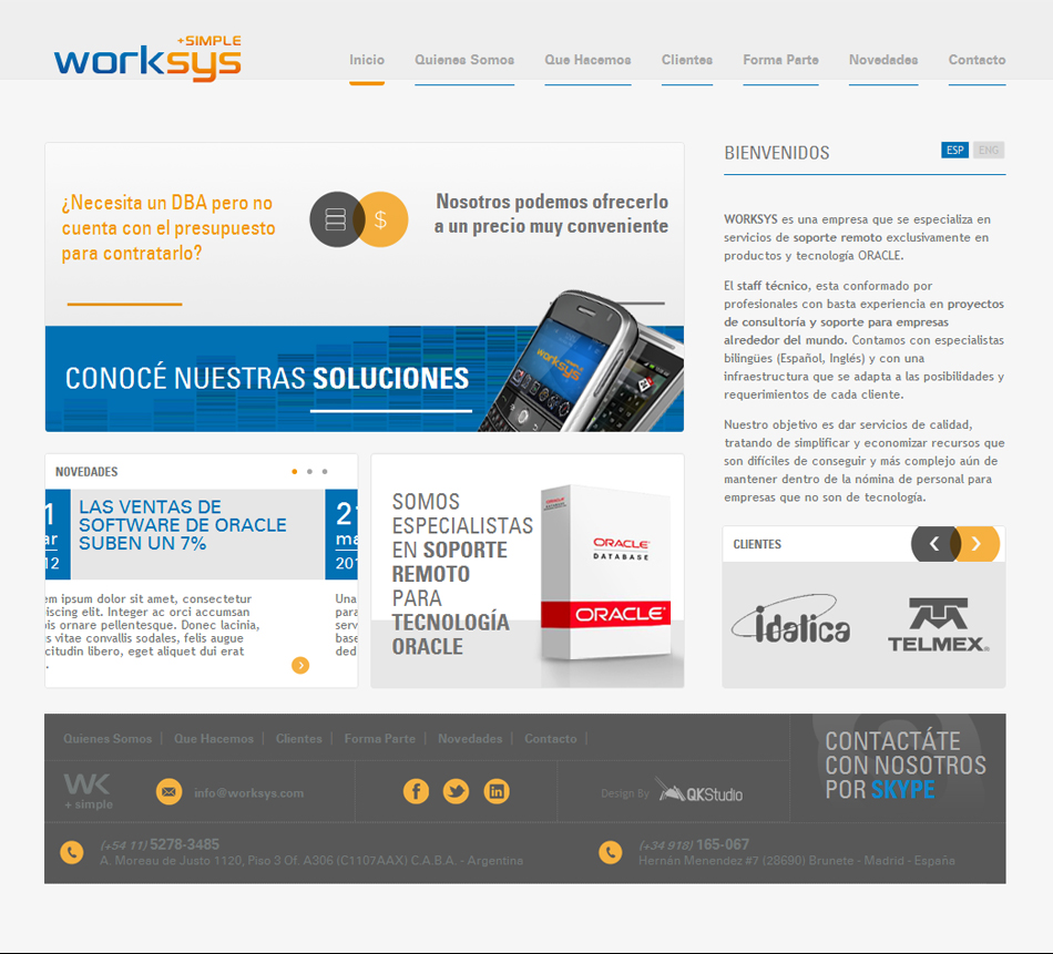 Work-sys Web QKStudio