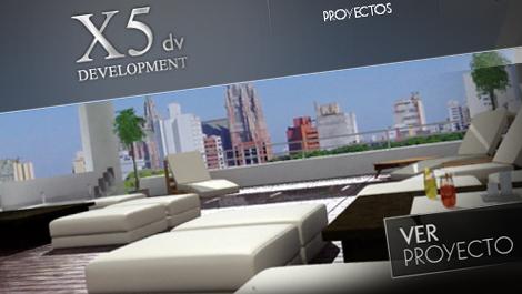 X5 dv Development   Diseño web
