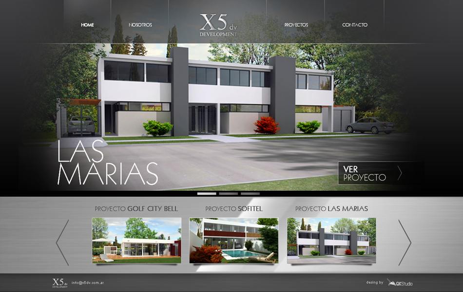 X5dv Development Web QKStudio