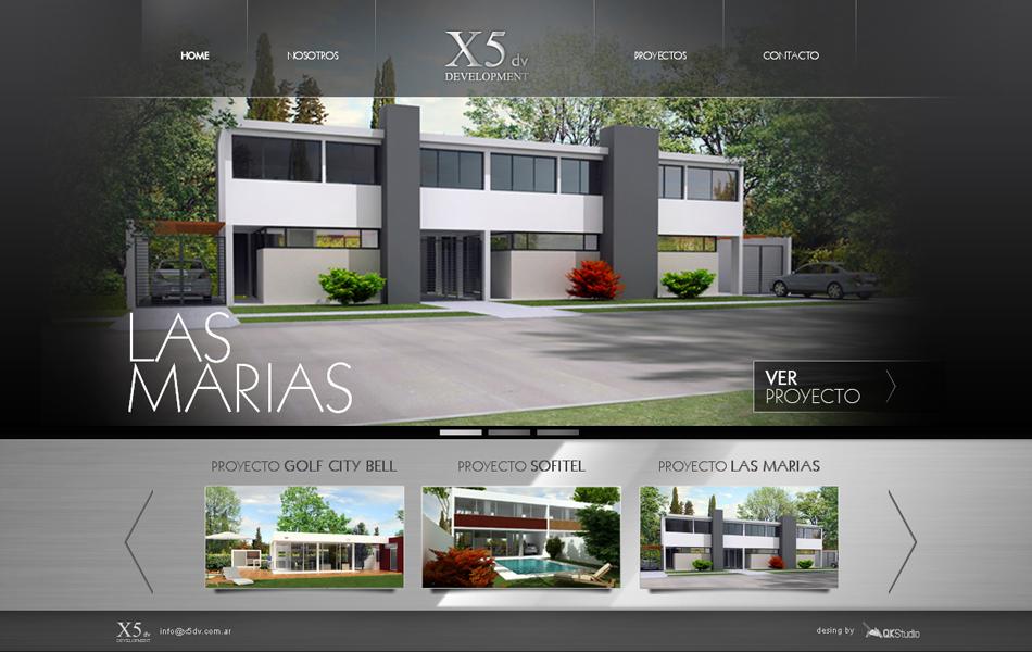 X5dv Development Web QKStudio