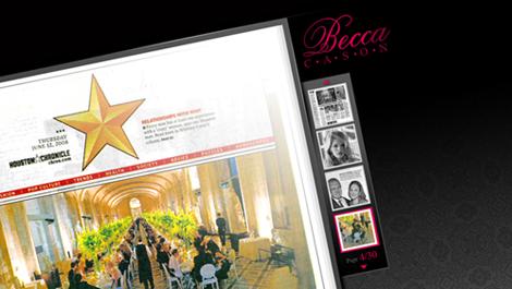 Becca Cason | Diseño y desarrollo web