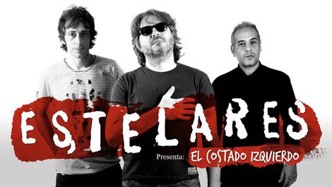 Estelares rock band | Diseño de imagen, desarrollo web y CD/DVD