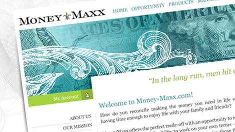 Money Maxx   Diseño web