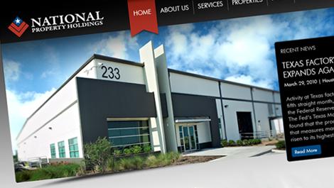 National Property Holdings   Diseño web