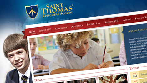 Saint Thomas | Diseño web